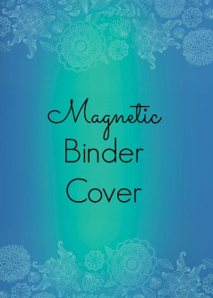 Magnetic Binder Cover
