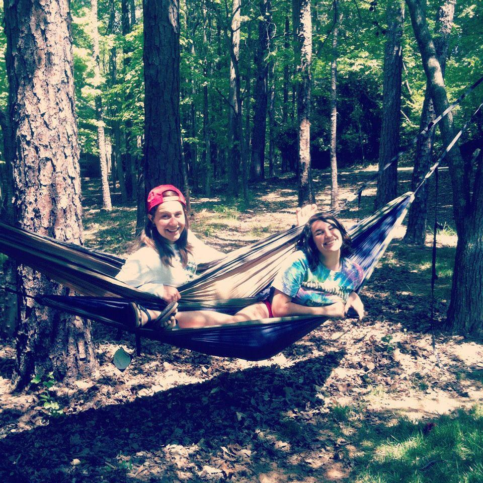 Girls in Hammocks