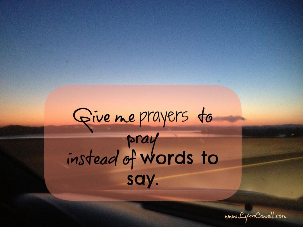 Prayers to Pray .jpg