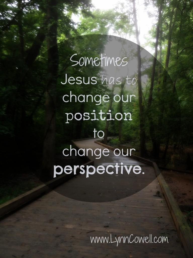 Change position
