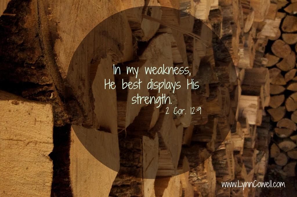 In my weaknessjpg