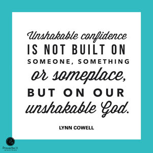 1 - UnshakeableConfidence