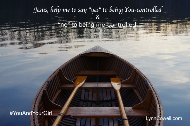 Day 9 of 9 | Lord, make me self-controlled | 9 Prayers to Pray During Times of Change | #youandyourgirl series {May 2015} by Lynn Cowell