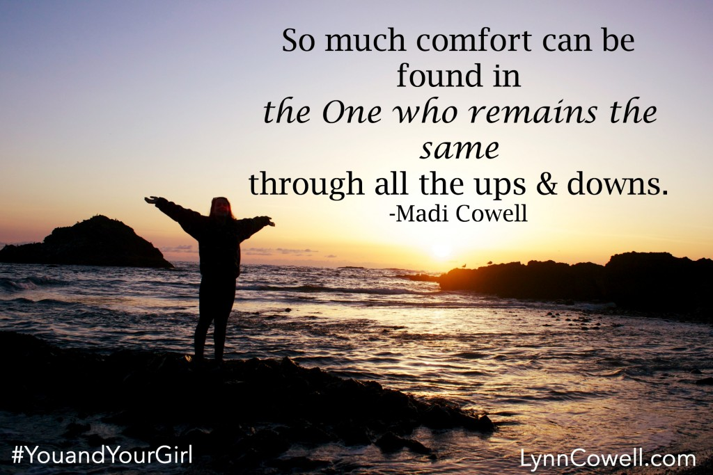 Day 5 of 5   The Power of Consistency   From My Girl To Yours   #youandyourgirl series {June 2015} by Lynn & Madi Cowell