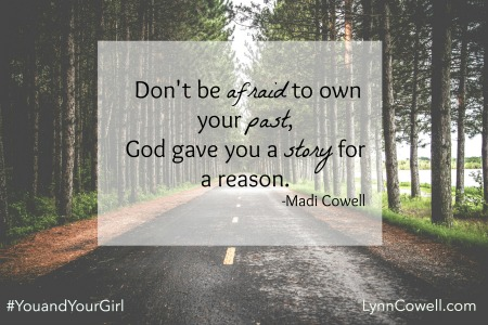 Day 3 of 5 | Why You Should Let Your Guard Down | From My Girl To Yours | #youandyourgirl series {June 2015} by Lynn & Madi Cowell