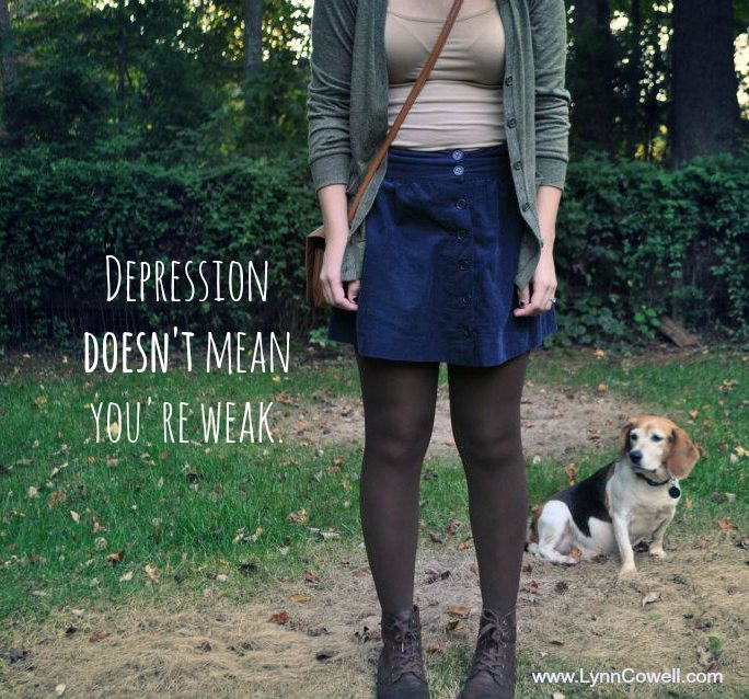 Depression Doesn't Mean You're Weak
