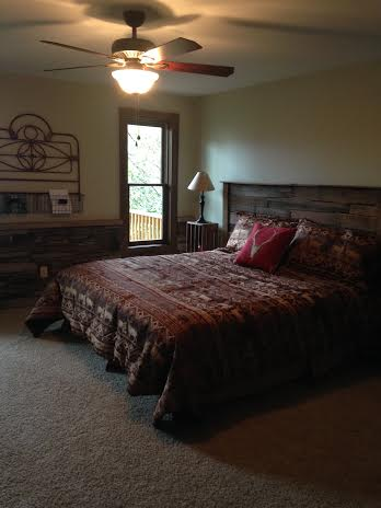 Looking for a unique headboard on a shoe string budget?