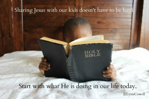 Share With Your Kids about Jesus