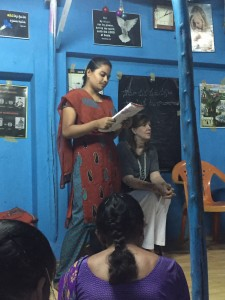 Mission India's Adult Literacy Classes