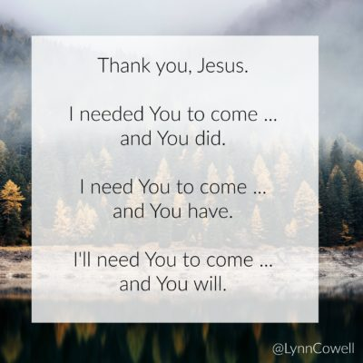 You Come