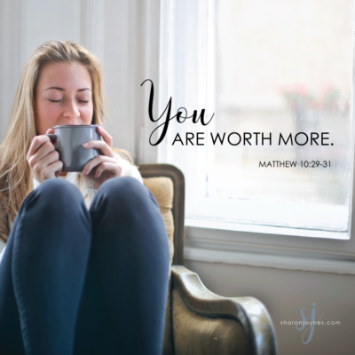 You are Worth More {GIVE AWAY DAY} – Guest Post
