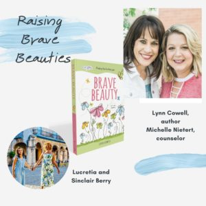 """This week on Raising Brave Beauties, Michelle Nietert and I are joined by Dr. Lucretia Berry of Brownicity and her 13-year-old daughter Sinclair!  Lucretia lives with her husband and three daughters in North Carolina. She has a PhD in education and is an author, writer, and TED speaker.  We're talking about:  👨👩👧👧 Multi-ethnic families and appreciations for our differences and similarities   ✝️ What God can do if we invest in our children  ⏳Middle school is a strange time in life and the challenges that come with it  👩🏫Surrendering to the learning process & allowing your teachers to be God and your child   Listen via the link in bio or wherever you listen to your podcasts!    And be sure to check out our book """"Loved and Cherished: 100 Devotionals for Girls"""" now available on Amazon or at lovedandcherished.me 🌸✨📚"""